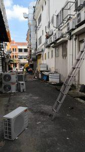 aircond dismantle